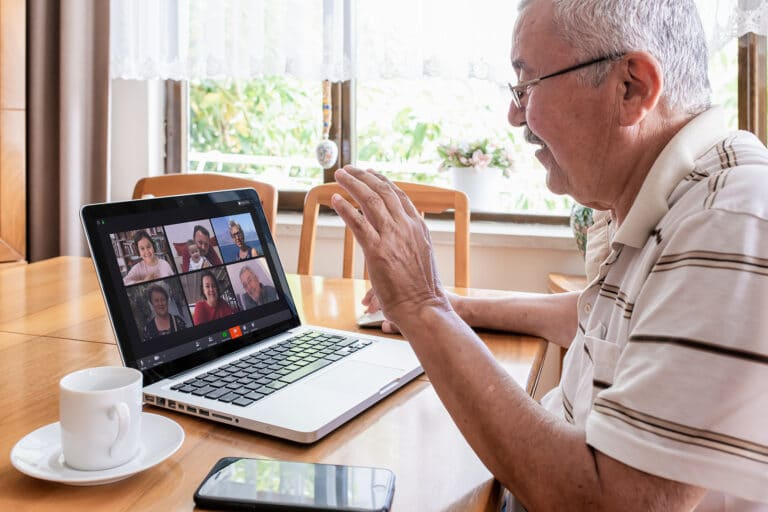 COIVD 19 VIDEO CHAT WITH FAMILY